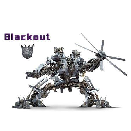眩晕 Blackout 变形金刚系列单体模型