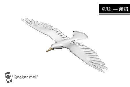 海鸥 gull