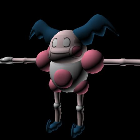 口袋妖怪 魔墙人偶 Mr.Mime