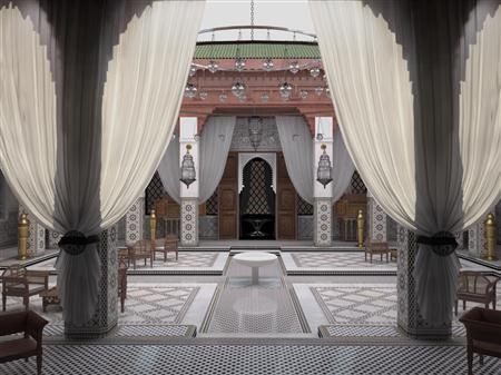 室内场景模型系列 东方风格 场景4