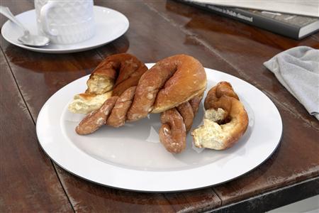 西方餐点 羊角面包