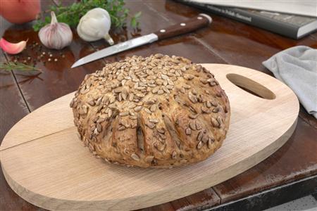 西方餐点 瓜子仁面包