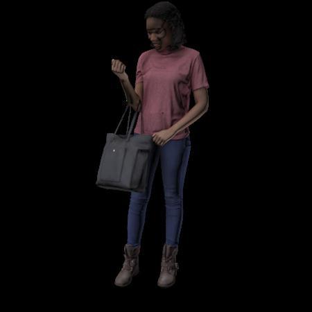 现代人模型 女人 6