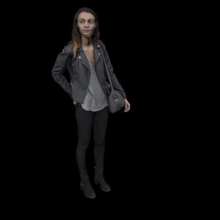 现代人模型 女人 15