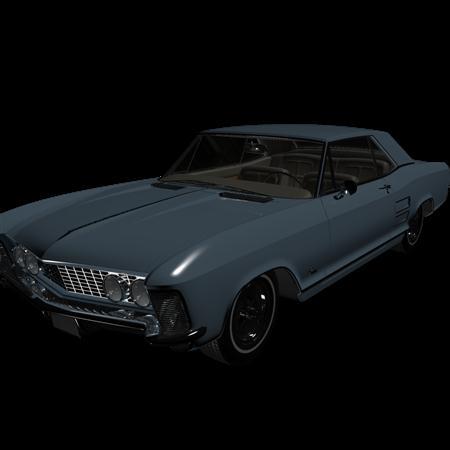 汽车系列 Buick Riviera 1963