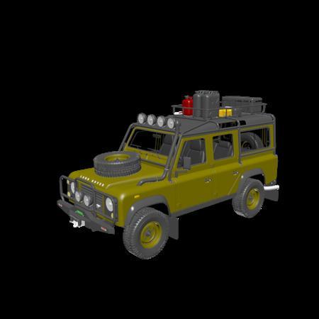 汽车系列 Land Rover Defender Expedition