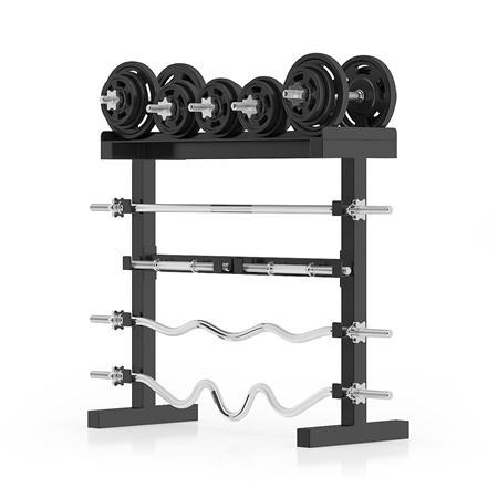 健身器材 杠铃架