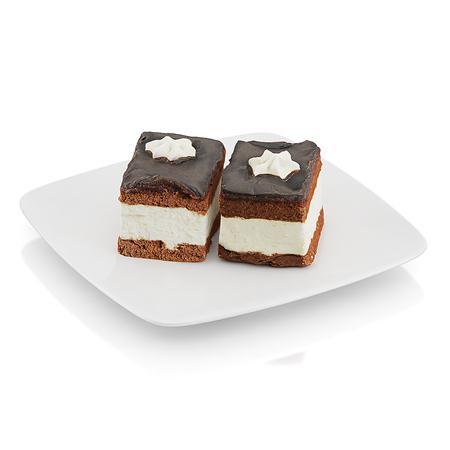 精美食物 两块蛋糕