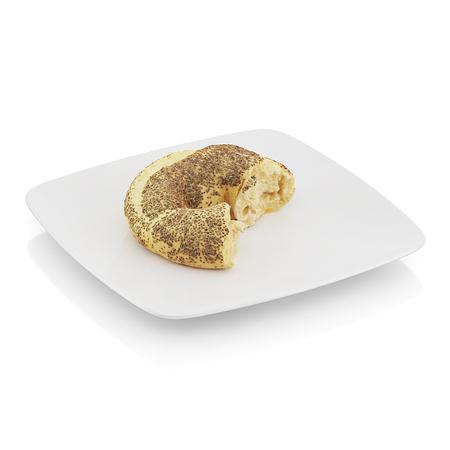 精美食物  半个面包