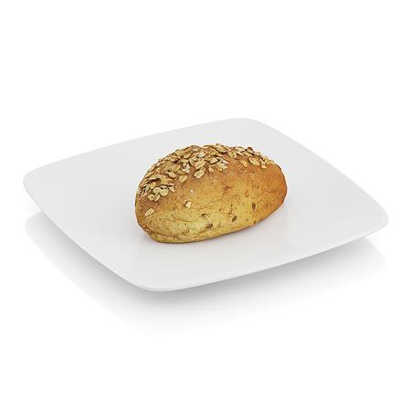 精美食物  瓜子面包