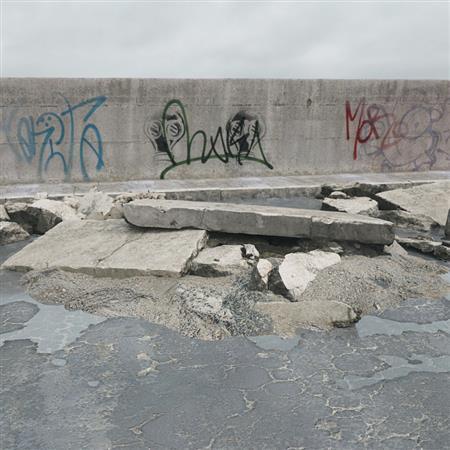 废弃水泥板