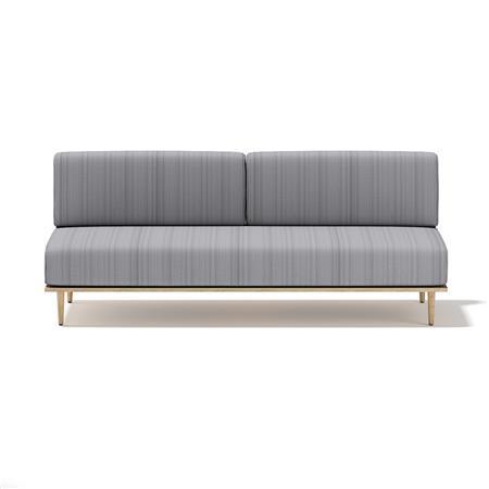 灰色双人沙发