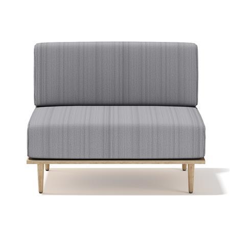 灰色单人沙发