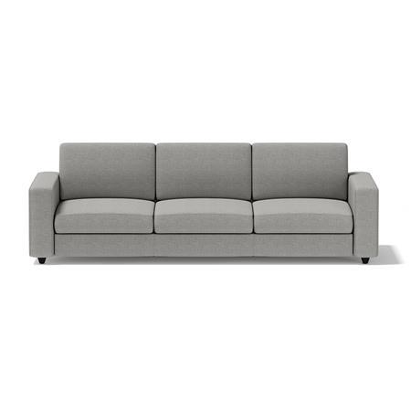 白色三人沙发