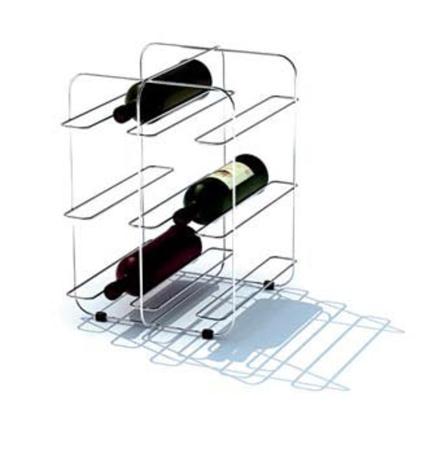 红酒与酒架