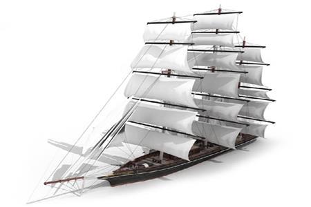 三桅帆船2 Barque