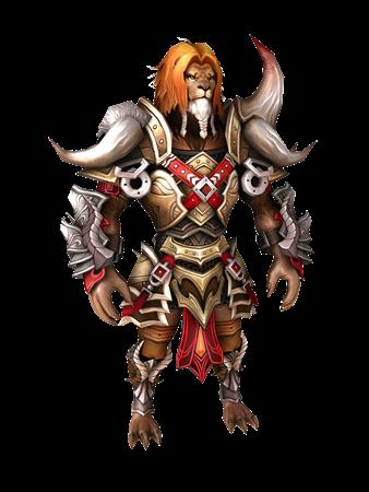 DK ONLINE 兽人狮族战士