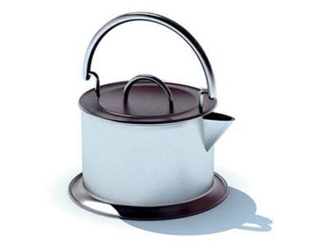 白色烧水壶
