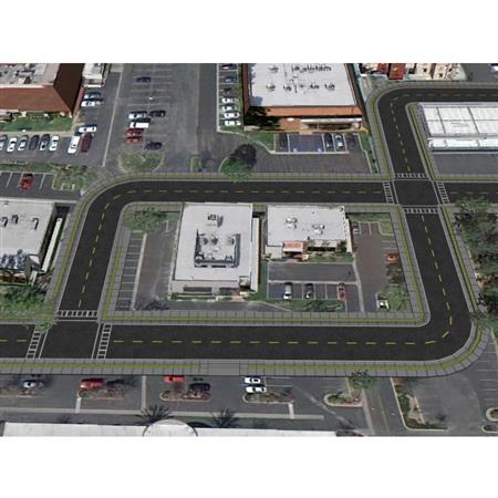 城市街道模块 City Street Kit