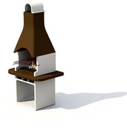造型独特的烧烤炉