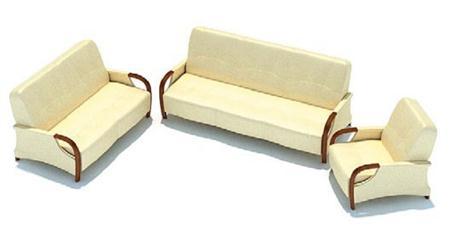 米黄色组合沙发