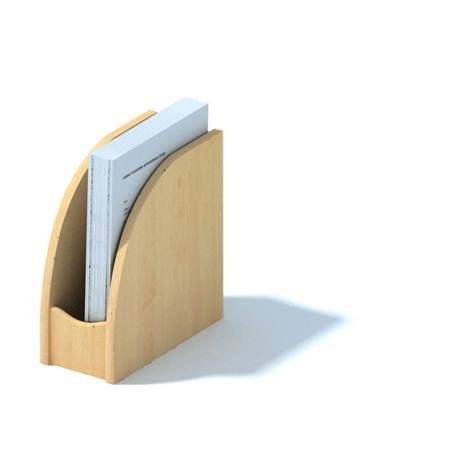 办公工具 木质单栏文件架 Office tool