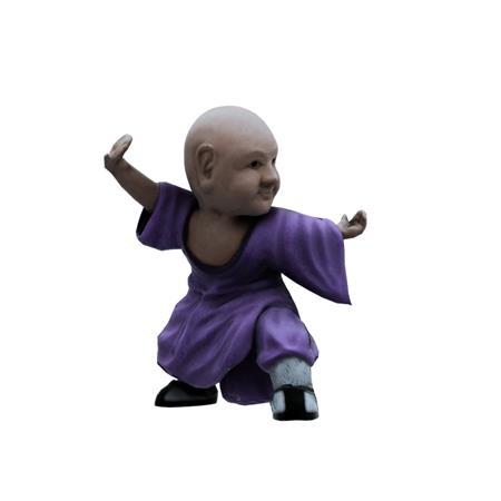 小罗汉雕像 Small arhat statue