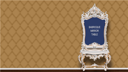 Baroque Mirror Table 巴洛克镜台