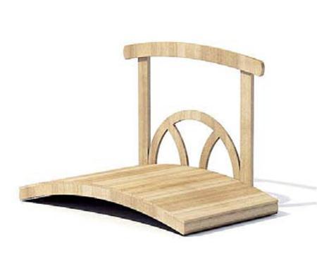单面扶手木桥