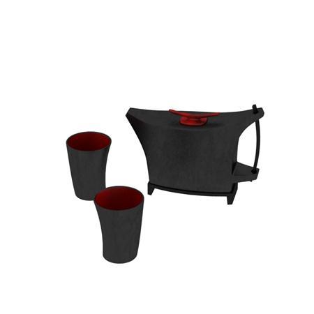 茶壶三件套 teapot