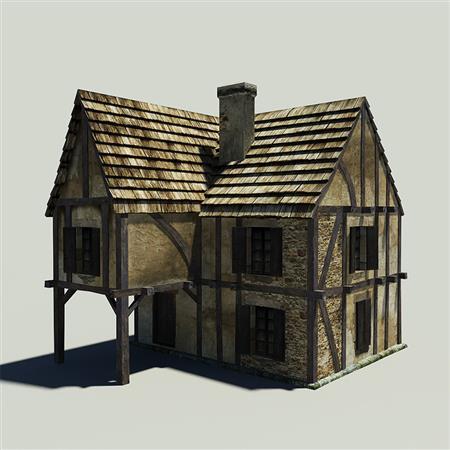 中世纪房屋 Medieval_House