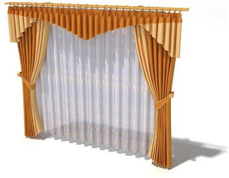 双层窗帘 式样1