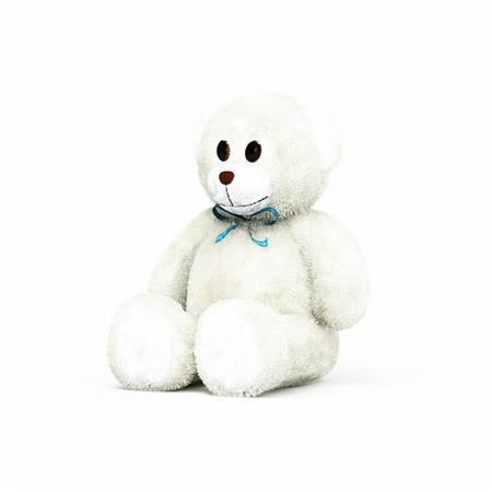 北极熊娃娃 Polar bear doll