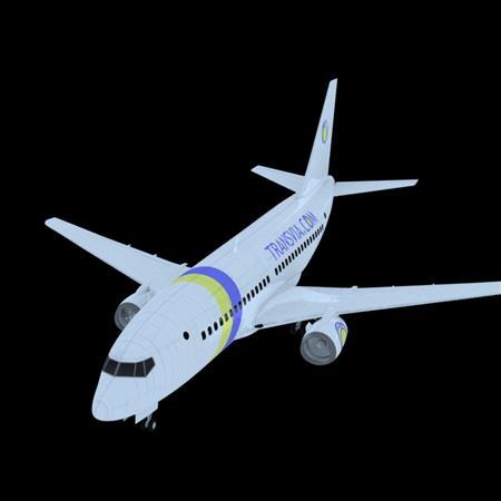 自制民航飞机